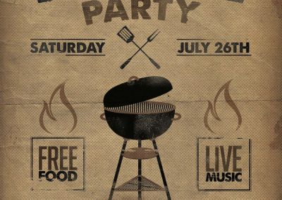 Barbeque Flyer Template 3